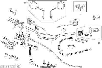 Derbi Senda Drd 125  Throttle Cable  New 866335