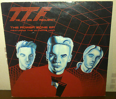 """The Time Frequency Featuring The Ultimate High 12"""" Record For Sale"""