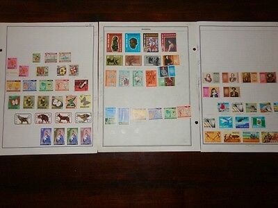 Rhodesia ************************* 1967-77 Collection Of 66 Different