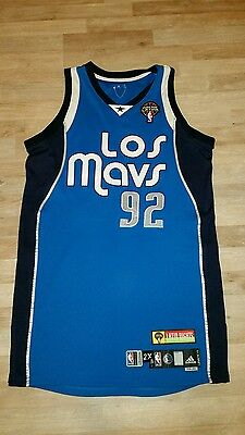 Game Worn Deshawn Stevenson Jersey Meigray Mavericks