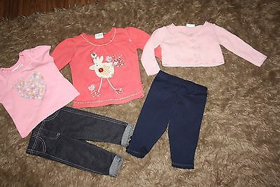 Bundle Of Baby Girls Clothes Age: 3-6 Months
