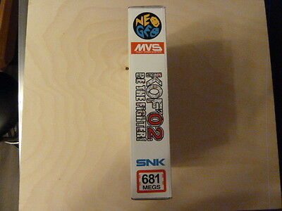 THE KING OF FIGHTERS`2002 NEO GEO SNK MVS CARD mit Neomini Box in gutem Zustand