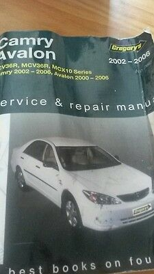 Camry service manual