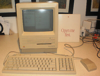 Apple Macintosh SE 40M HD / 4M RAM - working but floppy drive not working