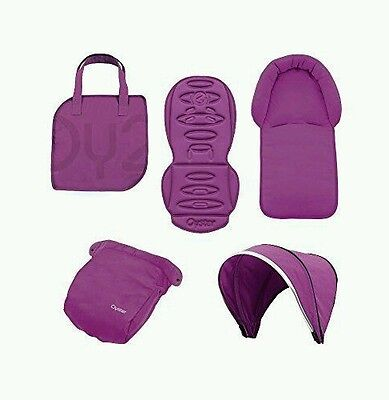 NEW BabyStyle Oyster 2 / Max Colour Pack in Purple Grape