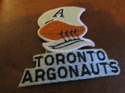 toronto argos cfl water wing embroided patch