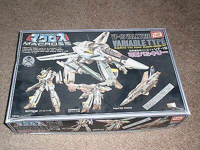 Macross VF-1S Valkyrie New open box kit 1/72 excellent cond Limai box minor wear