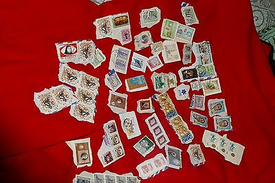 64x various Middle East 1900s-2000s used stamps -  postage philately mail postal