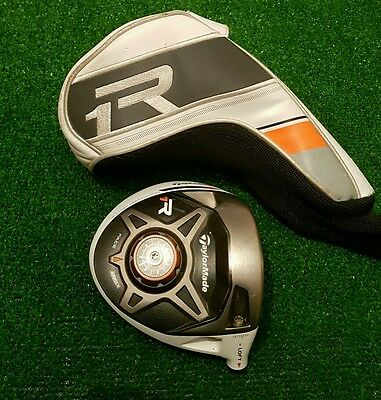 Taylormade R1 driver head and cover / 8-12° / serial number
