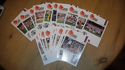 Rugby League British Coal Players Facts Cards