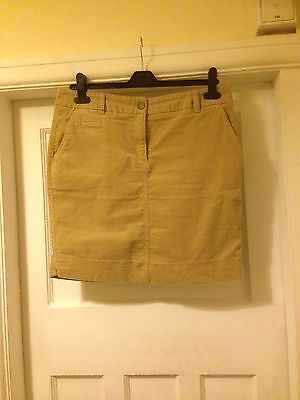 M&S Cord Skirt Size 12