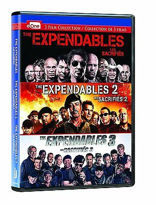 The Expendables: Complete Sylvester Stallone Movie Series 1 2 3 Box/DVD Set NEW!