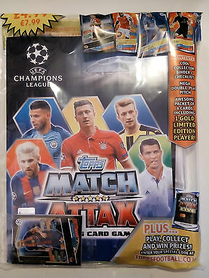 Match Attax Uefa Champions League 2016/17 Starter Pack New & Sealed