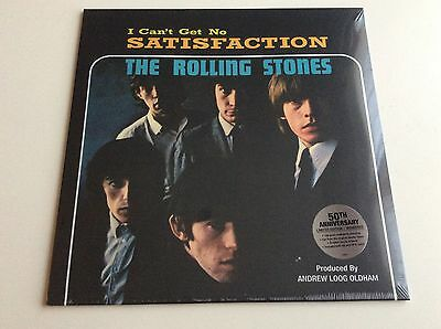 "The Rolling Stones - I Can't Get No Satisfaction Ltd Edition 12"" Vinyl (Sealed)"
