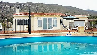 beautifull villa by benidorm spain with pool car px swap cash either way