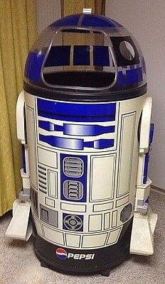 R2-D2 Star Wars Pepsi Iceman Cooler by Paul Flum Item #IM01-1645 Man Cave Must!!