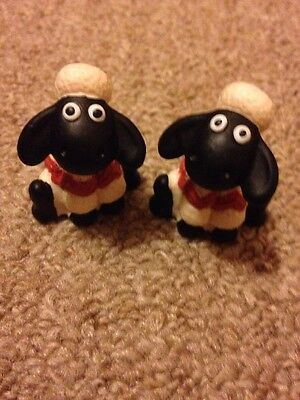 Shaun The Sheep Cereal Box Toy Figures From 1990s