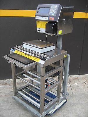 Commercial Digital Touch Screen Scales, Label Maker And Heat Seal Unit