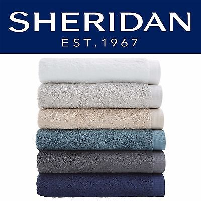 SHERIDAN Neilson Range 100% Cotton - Bath Towel Hand Towel Face Washer Bath Mat