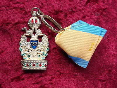Order of the Iron Crown III Class Austria Napoleon 1815 with case and ribbon