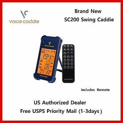 New Swing Caddie SC200 Portable Golf Launch Monitor with Audible Out Put