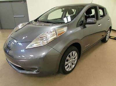 2015 Nissan Leaf S Hatchback 4-Door 2015 Nissan LEAF S 4dr Hatchback