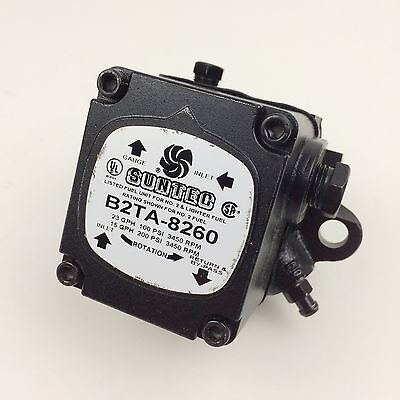 NEW Suntec Two Stage (2-Stage) Oil Pump 3450 RPM 23 GPH @ 100 PSI