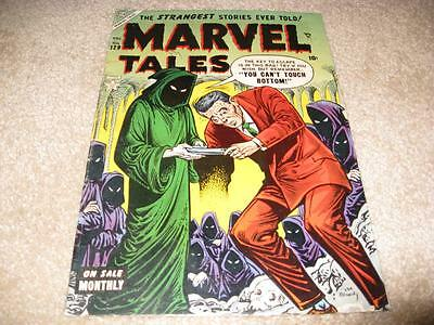 Marvel Tales #129  1954  Great Cover-  Higher Grade Copy