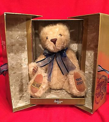 MERRYTHOUGHT 70th ANNIVERSARY BEAR  LE 17 OF 2500