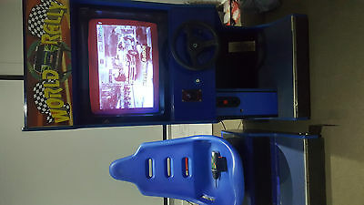 world rally arcade machine/driving game/amusment/coin operated/man cave