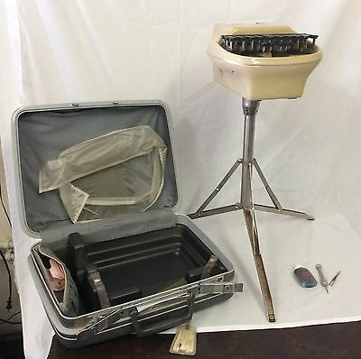 Stenograph Reporter Shorthand Machine W / case and Tripod