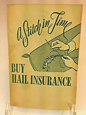 Antique Buy Hail Insurance Southern Co ~NEEDLE CASE ADVERTISING  Sharps Germany