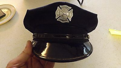Vintage Chief Fire Department Dress Hat Greenwich Ohio ?