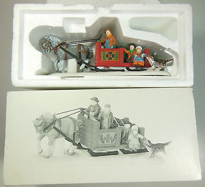 """Dept 56 Nev Accessory, """"over The Bridge And Through The Woods"""", Item #56545"""