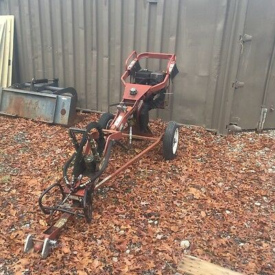 General 660 towable one man auger tow behind post hole digger