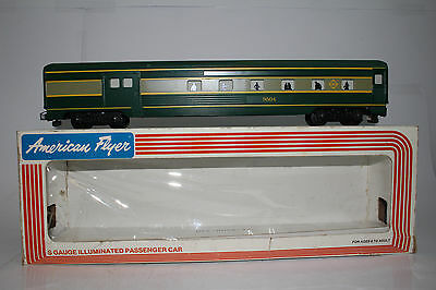 American Flyer #4-9504 Erie Railroad Combo Baggage & Passenger Car, Boxed