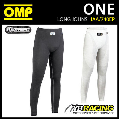 Iaa/740Ep Omp Racing One Long Johns Pants Maximum Cooling & Breathability By Omp