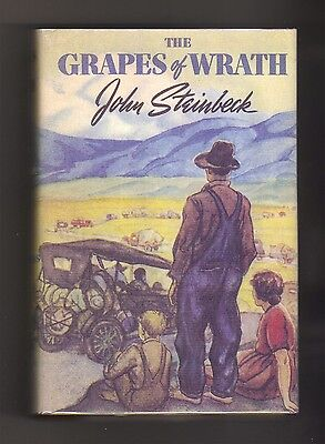 THE GRAPES OF WRATH~John Steinbeck 1939~First Edition