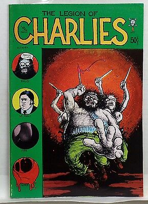 THE LEGION OF CHARLIES comic 1971 Last Gasp 1st FIRST Printing CHARLES Manson