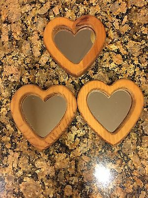 Home Interior Homeco Vintage Heart Mirrors Set Of 3