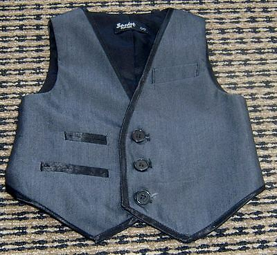 Baby Boys Vest By Bardot Junior Sz 00  New Without Tags