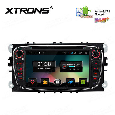 """Ford Mondeo/Focus 7""""Android 6.0 Car DVD Player GPS NAV Stereo BT OBD2 DAB+ Radio"""