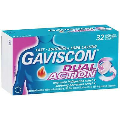 Gaviscon Dual Action Tablets 32 | Heartburn & Indigestion
