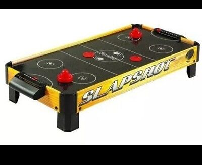 Carmelli Slapshot 40 In. Electric Table Top Air Hockey GREAT DEAL ON A FUN GAME