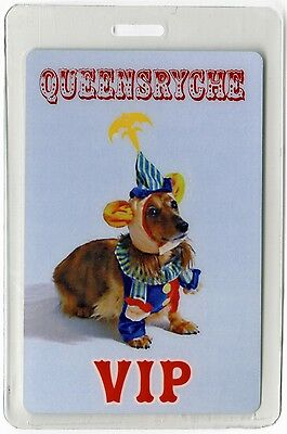 Queensryche authentic 2000's concert tour Laminated Backstage Pass