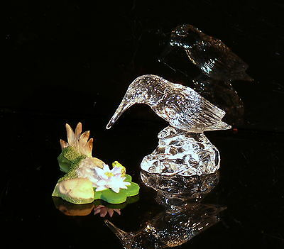 Waterford Ireland Long Retired Jewels Collection King Fisher + Pond