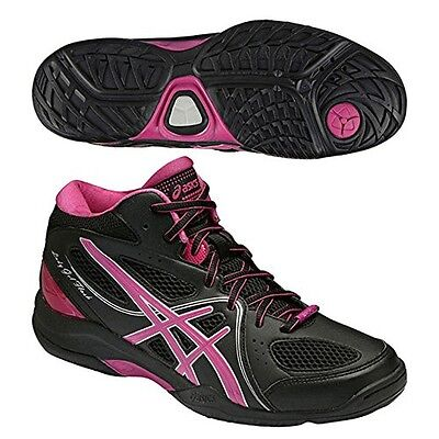 asics basketball shoes asics lady gel flash5 TBF401 Black / pink