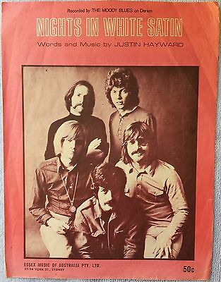 Sheet Music - Nights In White Satin (The Moody Blues)