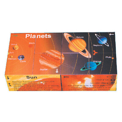 ZOOBOOKOO SOLAR SYSTEM Educational KIDS CUBE BOOK Homeschool ASTRONOMY Planets