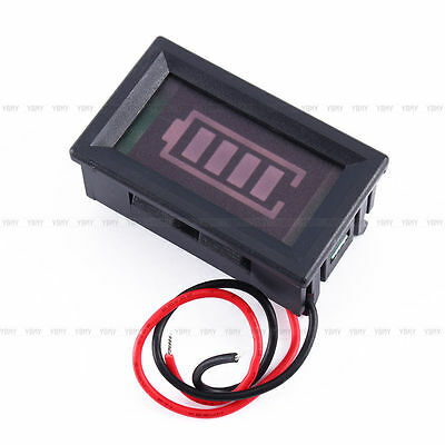 12V Lead-acid Battery Capacity Display Percentage of Electricity Indicator Panel